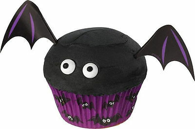 Bat Halloween Cupcake Decorating Kit from Wilton #3025 - NEW - Halloween Cupcakes Decorating