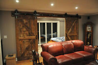 VANCOUVER CUSTOM BUILT BARN DOORS!