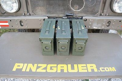 AMMO Can US ARMY Military Surplus M19A1  30 Cal Ammunition Metal Box Set of 3