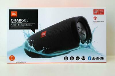 JBL Charge 3 Bluetooth Lautsprecher Schwarz
