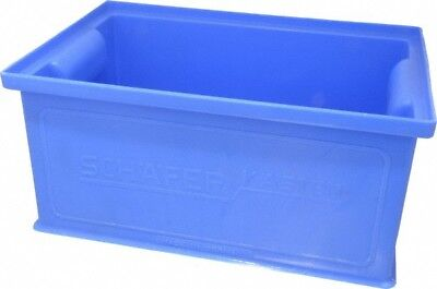SSI Schaefer 0.25 Cu. Ft. Blue Polyethylene and Conductive PP Tote Container ...