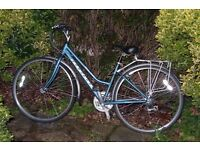 £30 Ridgeback Ladies Cycle with pannier rack - but gears need to be fixed