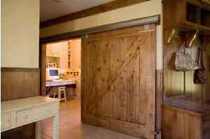 "Rustic Sliding ""Barn Style"" Doors London Ontario image 7"