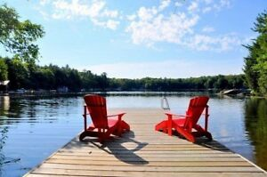 Lake Muskoka Cottage: Discounted 2-week Rentals Summer 2018