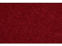 CLARET RED DEEP RED NEW CARPET THICK 4M X 3M OR 13FT X 7.8FT