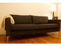 Dark Brown Sofa **MUST GO**