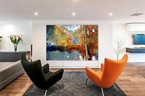 ONE-OF-A-KIND Original Contemporary Paintings Cambridge Kitchener Area image 2