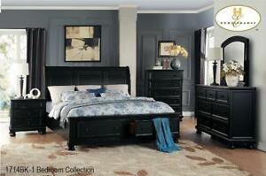Solid Wood 8 PC Queen Bedroom - Web exclusive deal (MA226)