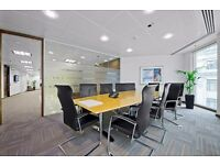 ●(Moorgate-EC2V) Modern & Flexible - Serviced Office Space London!‎