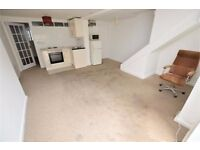 Spacious One bedroom ground/basement flat with spacious living area!!