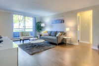 1, 2 and 3 BDRM apts with gym and pool in Westmount!