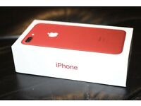 IPHONE 7 PLUS 256GB LIMITED EDITION RED BRAND NEW