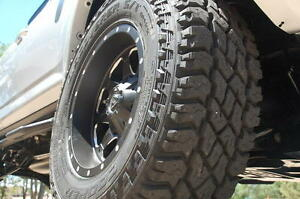 "285/70/17 (33"") Cooper St Maxx tires ALL TERRAIN MUD barely used"