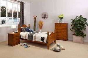 SAMPSON 3PCE SINGLE BEDROOM SUITE Villawood Bankstown Area Preview