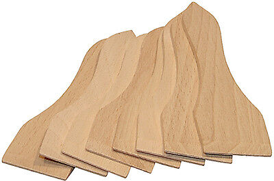Racletteschieber 8er Set Raclettschieber Spachtel Holzspachtel Raclette Holz