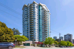 *Available now* Large 1 bedroom + den, 19th floor apt suite for
