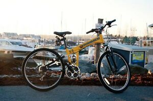 HUMMER Folding bike Beautiful condition !!