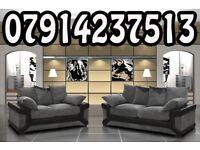 DINO SOFA RANGE CORNER SOFAS 3+ 2 SETS ARM CHAIRS FOOT STOOLS 4378