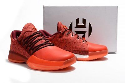 new arrival 819b4 66139 Adidas James Harden Vol. 1 Boost Basketball Shoes Red glare US 7.5