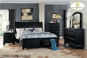 ANTIQUE COFFEE FINISHED BEDROOM SETS CANADA | BEDROOM FURNITURE SALE HAMILTON (MA18)