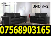 SOFA BRAND NEW LEATHER ITALIAN SOFA AVAILABLE FAST DELIVERY 4005