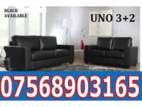 SOFA HOT OFFER Italian leather black or brown sofa set 169