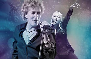 Rod Stewart & Cindy Lauper July 14 Bangor