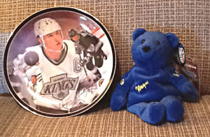 """Bradford Ltd. Ed. collector plate """"The Great Gretzky"""" 1st issue"""