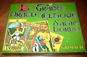 Oracle Celtique d'alan borvo- COMPLET - Rare 60$