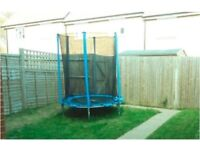Kids Trampoline Complete Set: almost new, bought less than a year, used quite few times