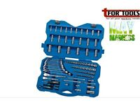 "DRAPER Expert 02364 114 PIECE 1/4, 3/8"" TOOL KIT Sockets Spanner Set"