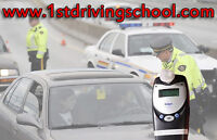 Training in car with Ignition Interlock Device for road test