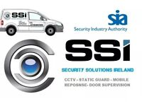 SSI, Mobile Response, Static Gaurd, Key Holding, Door Supervisor
