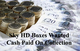 Sky HD Boxes Wanted Ring Or Text For Best Price