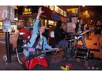 VERSATILE DRUMMER FOR WELL PAID BUSKING GIGS