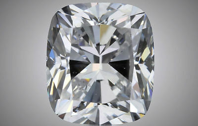 1.51 carat Cushion cut Diamond GIA report D color SI1 clarity excellent loose