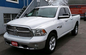 Trade Chrome Bumper and Grille for painted 2015 Ram 1500