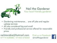 Local friendly gardener