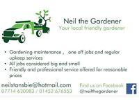 Friendly local gardener