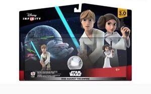 BNIB Disney infinity Star Wars Luke Leia Rise Against the Empire South Hurstville Kogarah Area Preview
