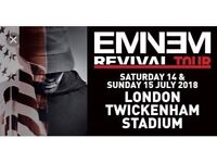 Eminem VIP tickets x 2 Twickenham Stadium