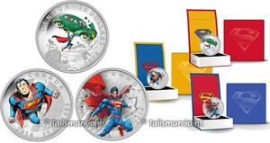 Superman Coins 2013, 2014, 2015 Silver ONLY