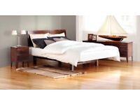 Teak Double Bed - NEW