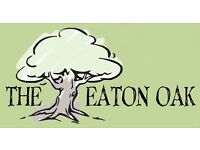 The Eaton Oak St Neots PE19 7DB, Recruiting for Part/Full Time Waiting Staff, up to £7.50 per hour
