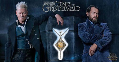 Gellert Grindelwald Pendant, Dumbledore, Blood Pact, Fantastic Beasts, Wizarding