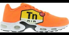 Nike Tuned 1 - Total Orange-Black-White - UK 11