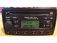 Genuine Ford Radio CD Player 6000CD RDS EON