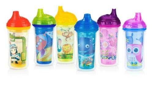 Nuby Clik-it Insulated Easy Sip Cup - No Spill - Leak Proof - 9oz/270ML