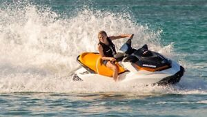 2017 Seadoo GTS 900 . 1-only left $8300 free extended warranty!