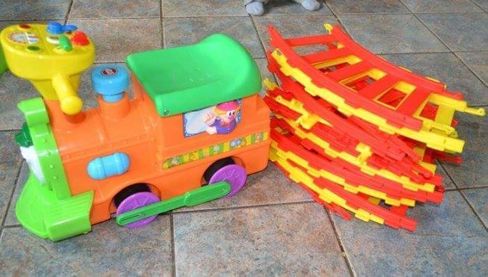 2 In 1 Choo Choo Loco Working Condition With Track 163 15 For